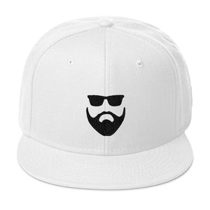 Black on White Snapback - BlackBeard T's