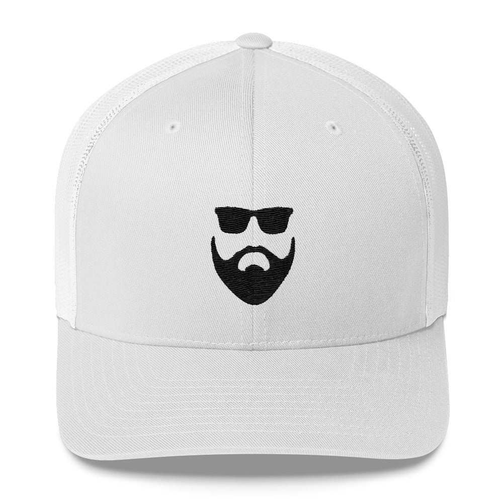 White out Trucker Cap