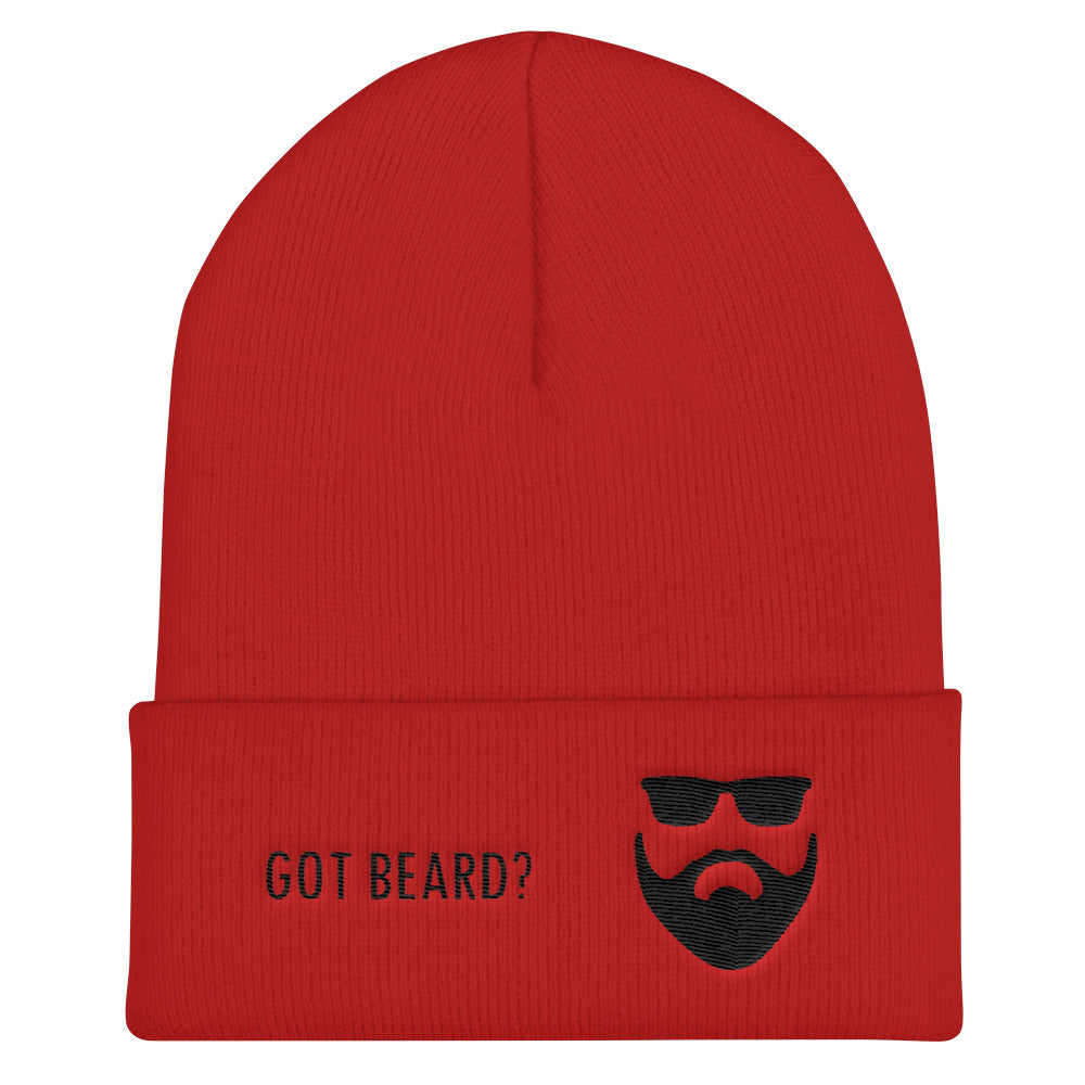 Got Beard? Cuffed Beanie - BlackBeard T's