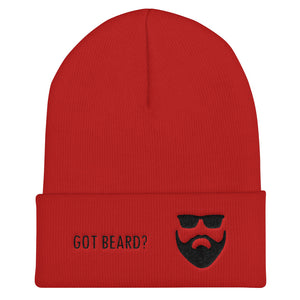 Got Beard? Cuffed Beanie