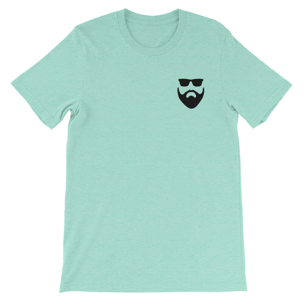 Round top T shirt - BlackBeard T's