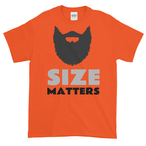Size Matters Short-Sleeve T-Shirt - BlackBeard T's
