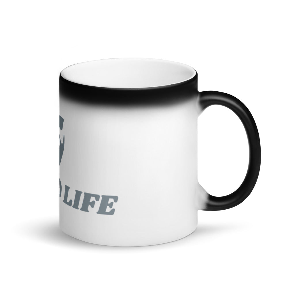 Beard Life Black Magic Mug