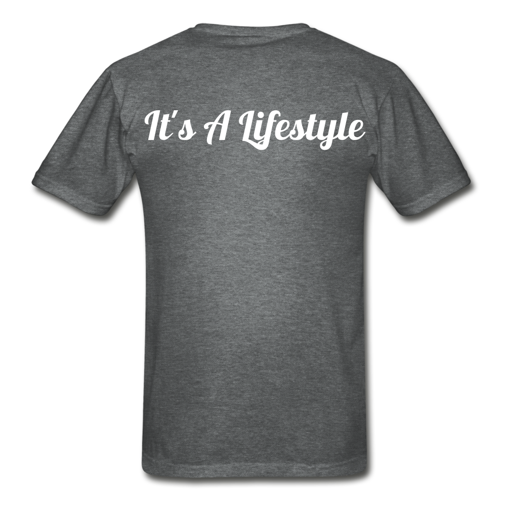Lifestyle Tee - deep heather
