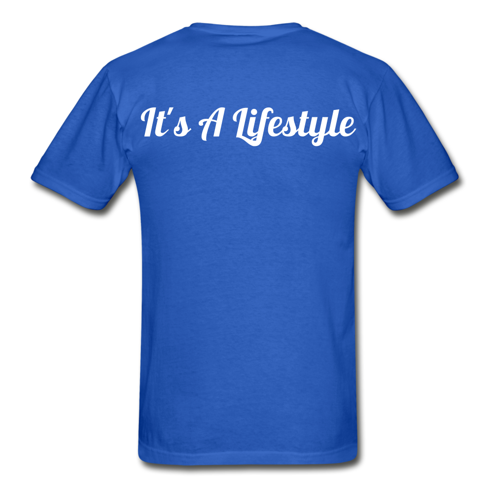 Lifestyle Tee - royal blue