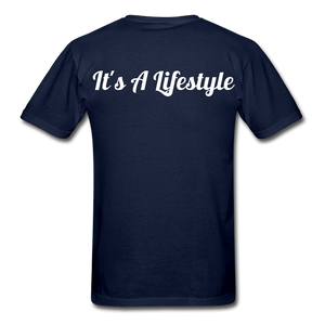 Lifestyle Tee - navy