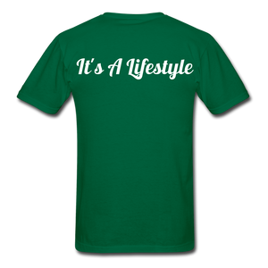 Lifestyle Tee - bottlegreen