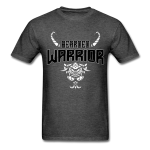 Beard Warrior Men's T-Shirt Black - heather black