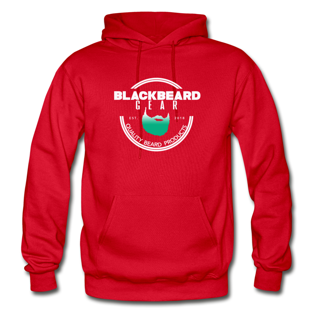 BlackBeard Gear Gildan Heavy Blend Adult Hoodie - red