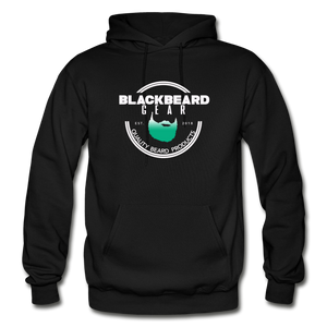 BlackBeard Gear Gildan Heavy Blend Adult Hoodie - black