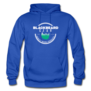BlackBeard Gear Gildan Heavy Blend Adult Hoodie - royal blue