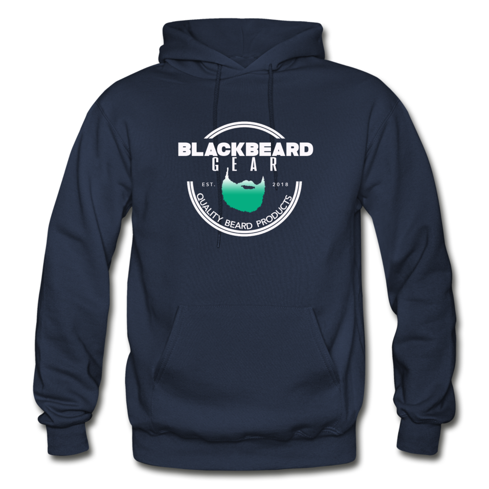 BlackBeard Gear Gildan Heavy Blend Adult Hoodie - navy