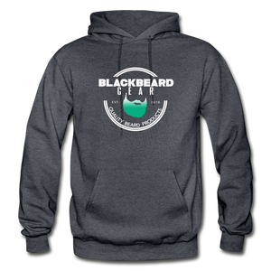 BlackBeard Gear Gildan Heavy Blend Adult Hoodie - charcoal gray