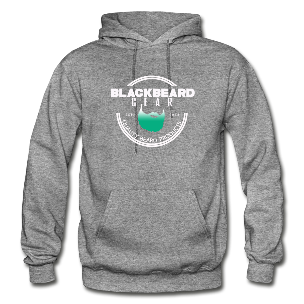 BlackBeard Gear Gildan Heavy Blend Adult Hoodie - graphite heather