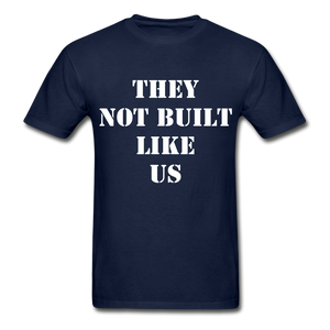 BUILT LIKE US Ultra Cotton Adult T-Shirt - navy
