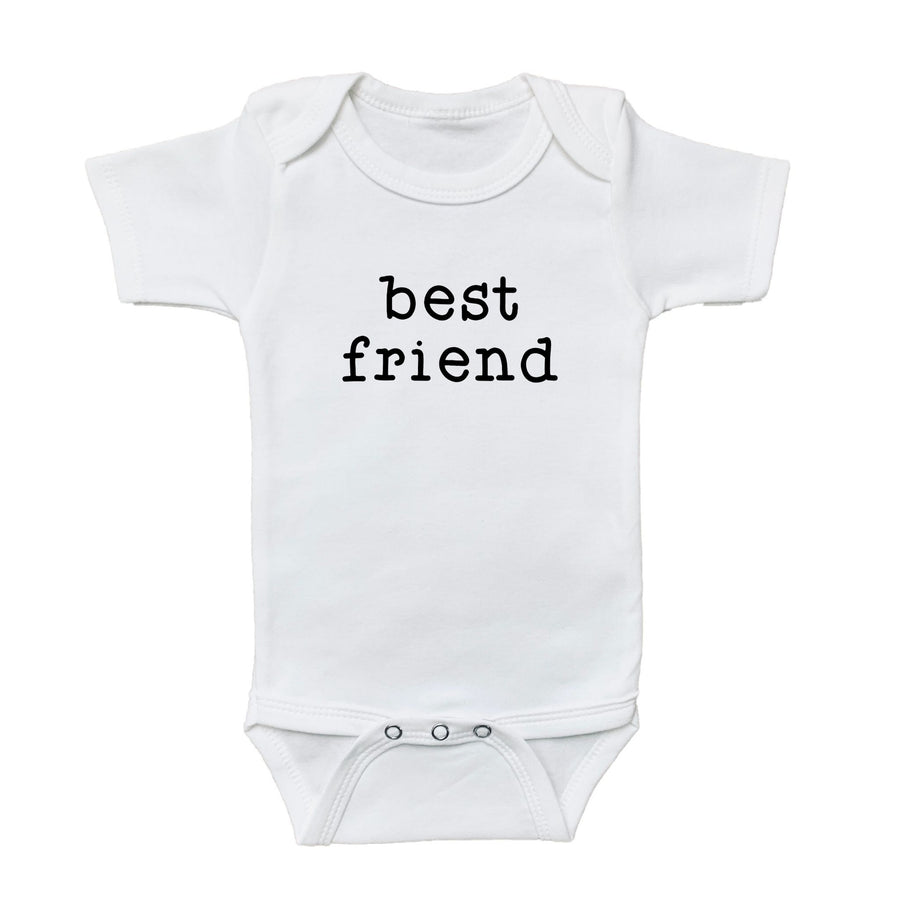 bestie, onesie, best friend onesie, graphic bodysuits for babies, graphic onesie, graphic baby onesies, graphic baby tees and bodysuits, gender neutral graphic baby bodysuits and tees, newborn baby onesie, baby graphic tee, cute baby onesies, baby girl bodysuits, newborn baby girl onesie, newborn baby girl bodysuit, newborn baby boy onesie, newborn baby boy graphic onesie, baby boy graphic bodysuit, loved baby onesie, loved baby graphic bodysuit