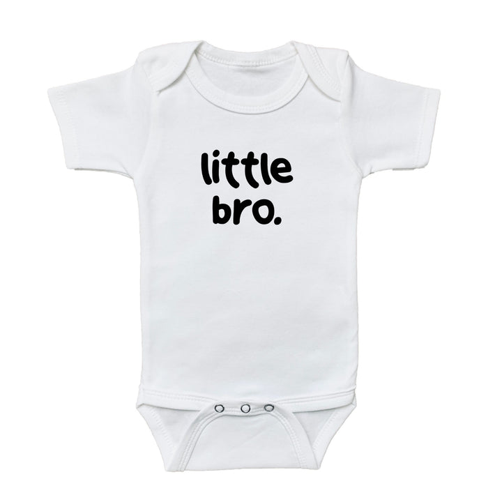 baby graphic bodysuit, little bro onesie, little brother onesie, kids shirt shop, baby shirt, shop baby, fun shirts, kids fun shirts, toddler fun shirts, family shirts