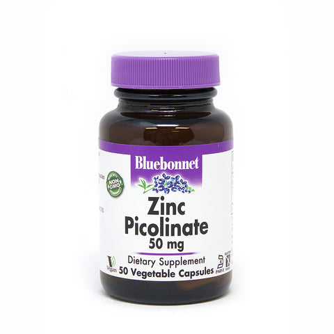 Bluebonnet Zinc Picolinate 50mg