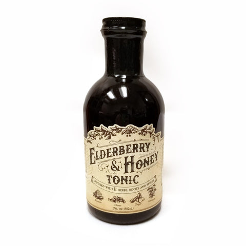 Roots and Leaves Elderberry & Honey Tonic