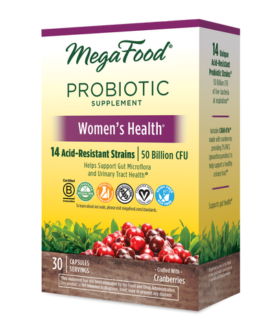 MegaFood Women's Health Shelf-Stable Probiotics