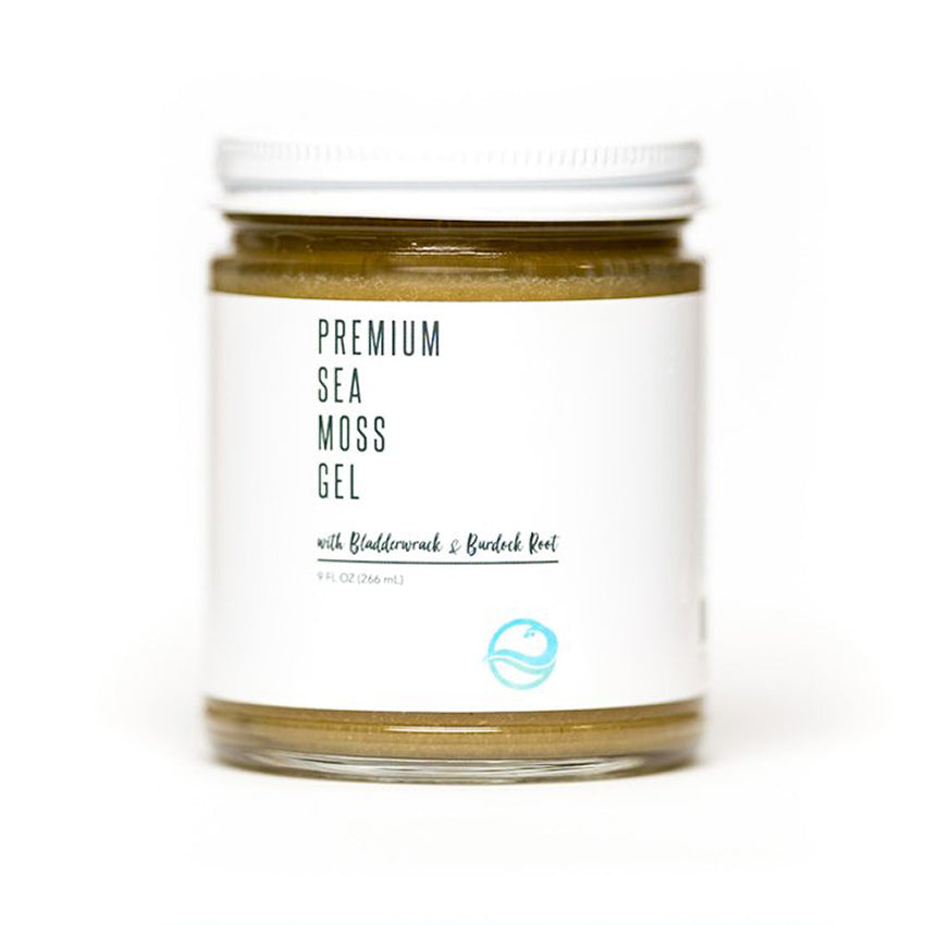 Ocean's Promise Premium Sea Moss Gel with Bladderwrack & Burdock Root