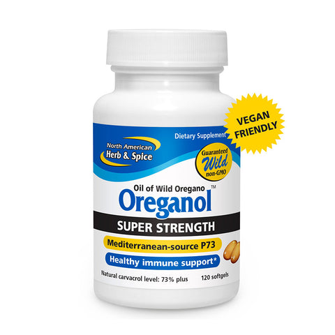 NAHS Oreganol P73 SUPER STRENGTH Softgels