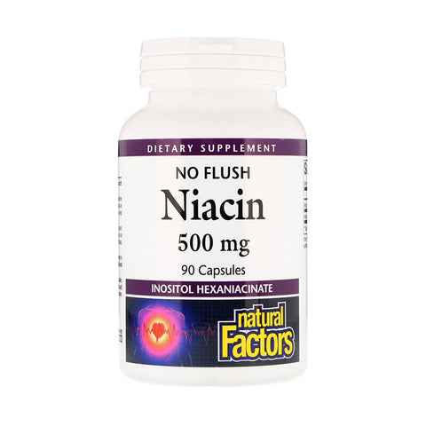 Natural Factors No Flush Niacin