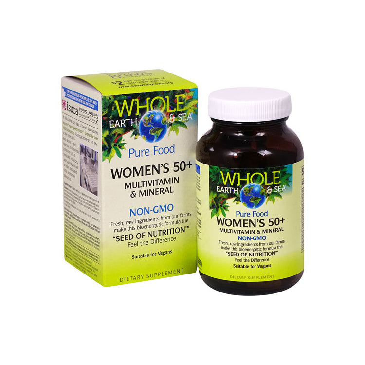 Whole Earth & Sea Women's 50+ Multivitamin