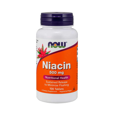 NOW Niacin 500mg