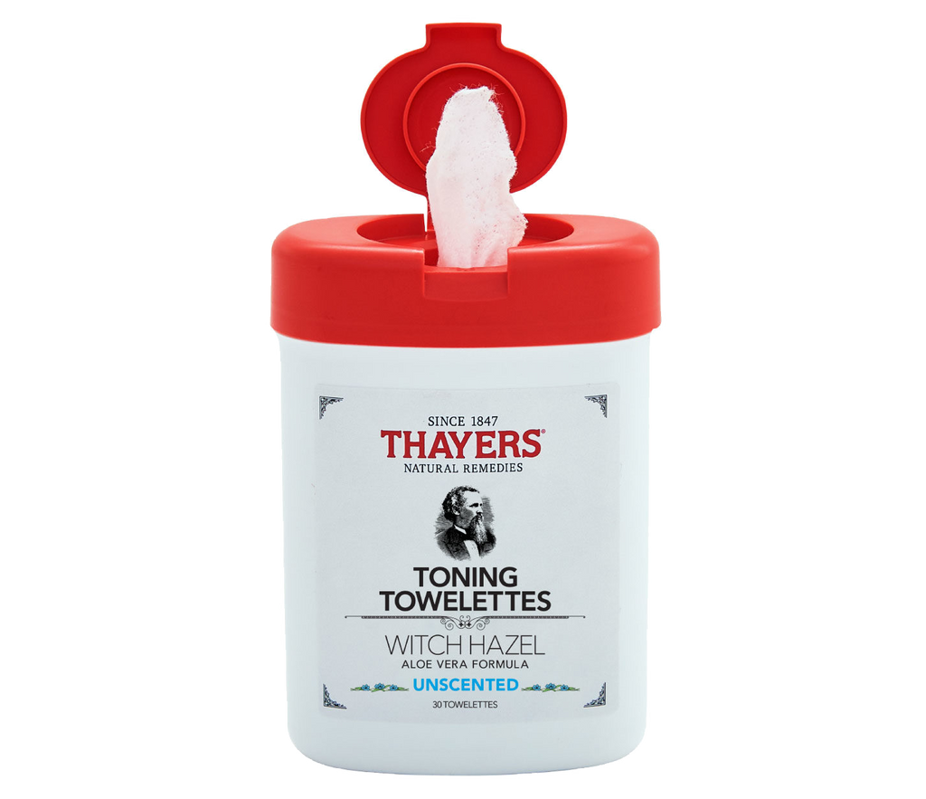 THAYERS Witch Hazel Toning Towelettes