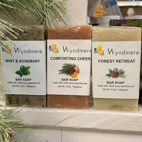 Wyndmere Essential Oil Bar Soaps