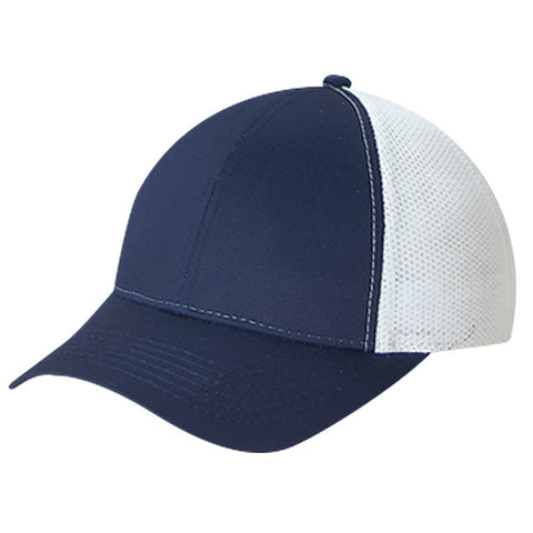Mesh Back Hat - Pewter Graphics Custom Promotional Products