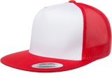 Flat Brim Trucker - Pewter Graphics Custom Promotional Products