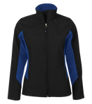 Everyday Colour Block Soft Shell Ladies Jacket - Pewter Graphics Custom Promotional Products