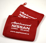 Lock Nut Key Bag - Pewter Graphics Custom Promotional Products