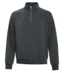 1/4 Zip Everyday Fleece - Pewter Graphics Custom Promotional Products