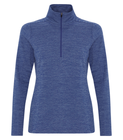 Dynamic 1/2 Zip Heather Fleece - Ladies - Pewter Graphics Custom Promotional Products