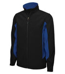 Everyday Colour Block Soft Shell Mens Jacket - Pewter Graphics Custom Promotional Products