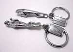 Leaper Keychain - Pewter Graphics Custom Promotional Products
