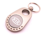 Pear Keychain - Pewter Graphics Custom Promotional Products