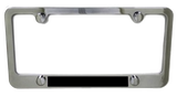 Chrome License Plate Frames - Pewter Graphics Custom Promotional Products
