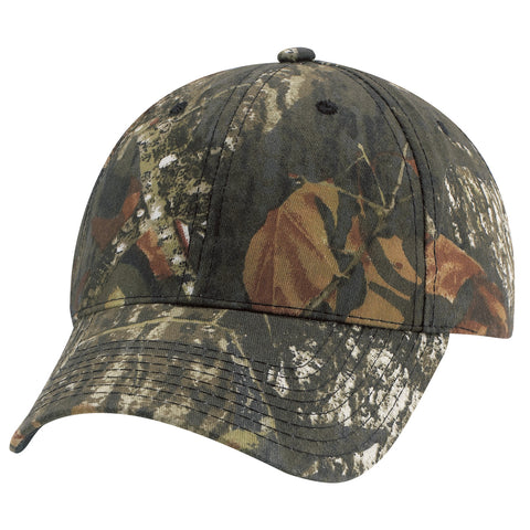 Mossy Oak Camo Cap - Pewter Graphics Custom Promotional Products