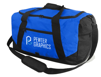 Epic Duffel Bag - Pewter Graphics Custom Promotional Products