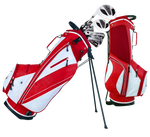 Spring Stand Golf Bag - Pewter Graphics Custom Promotional Products