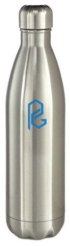 Leak-Proof Water Bottle - Pewter Graphics Custom Promotional Products