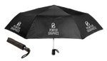 Telescopic Umbrella - Pewter Graphics Custom Promotional Products