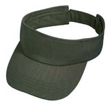 Cotton Visor - Pewter Graphics Custom Promotional Products