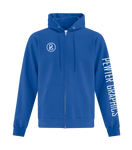 Zip Up Hoodie - Pewter Graphics Custom Promotional Products