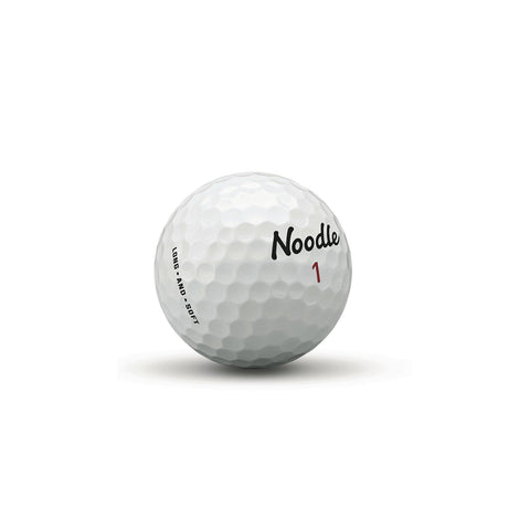 Golf Balls - Taylormade Noodle - Pewter Graphics Custom Promotional Products