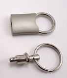 Valet Keychain - Pewter Graphics Custom Promotional Products
